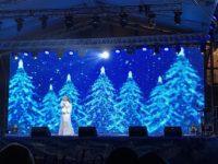 Открытие елки в Симферополе 19.12.18